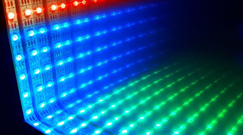 Farbwechsel mit RGB-LED-Stripe